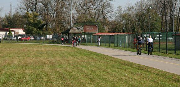Softball Field in Zagreb Croatia