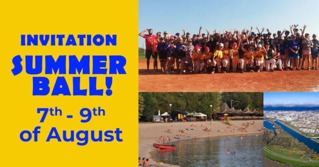 Invitation – Summer Ball U13 tournament 2021