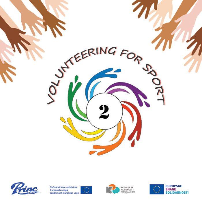 Volunteering for sport, vol 2 LOGo