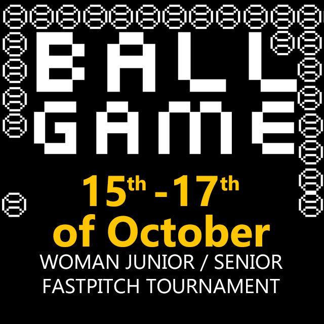 BALL GAME – Woman Junior/Senior fastpitch tournament